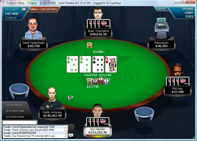 Full tilt poker change avatar