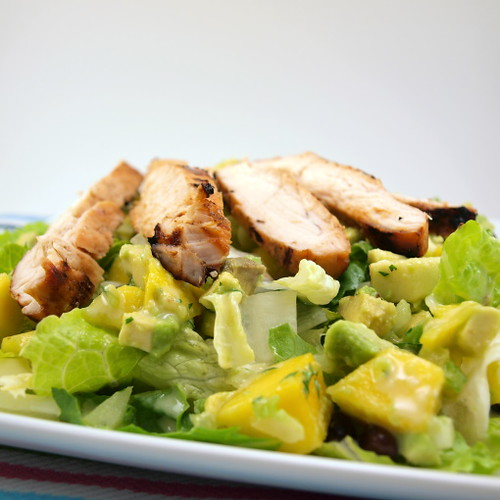 Honey Lime Grilled Chicken Salad