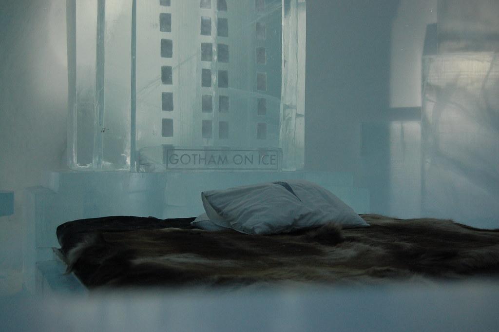 Gotham on Ice - Ice Hotel, Jukkasjarvi, Sweden