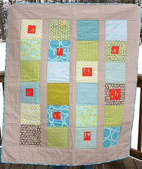 Clay's Quilt Front