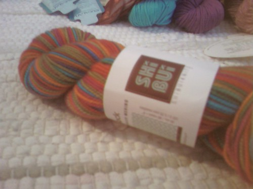 technicolor sock yarn...oh yea :o)