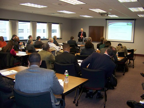 Over 50 potential applicants came to Jackson, MS to hear from the experts about the application process for Recovery Act broadband funds.