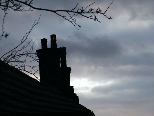 Lone chimney