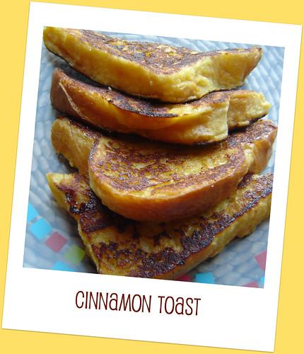 Yummiest Cinnamon Toast