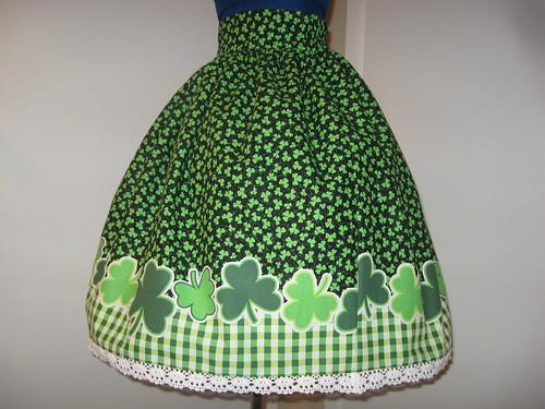 St Patricks Day Skirt 013