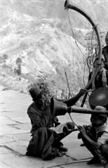 Gurung Funeral, Nepal, circa 1973-74 (tod.ragsdale) Tags: nepal gurung kaskidistrict maujavillage