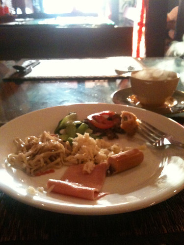 Breakfast at the Inter City Hotel