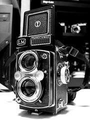Yashica Mat LM ([James]) Tags: bw 6x6 digital vintage nikon yashicamatlm p5000
