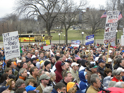 Tea Party rally to stop the 2010 health care reform bill