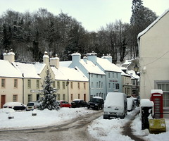 Winter scene (Bookbinder's Kid) Tags: snow scotland perthshire dunkeld