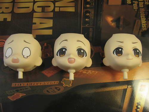 the three faces of (Nendoroid) Yui