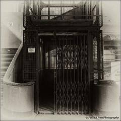 Waterschei, Coal mine site, HDR, Elevator (patrickiven) Tags: old urban lift elevator hdr coalmine acient steenkoolmijn waterschei