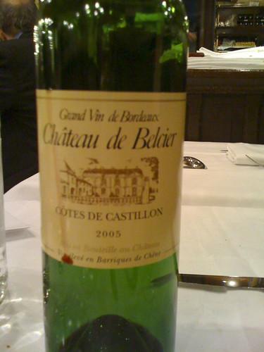 Chateau de Belcier Bordeaux, Brasserie Lipp
