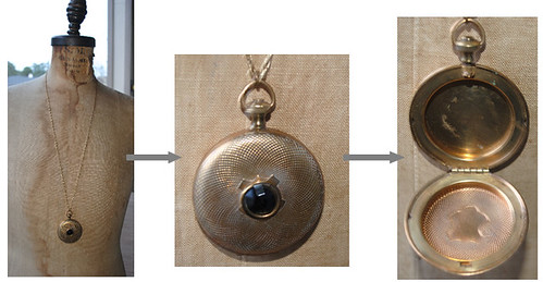 Locket with Black
