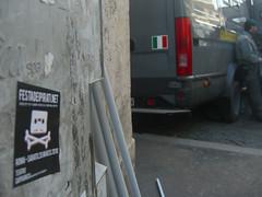 Festa dei Pirati 20-03-2010: stickering