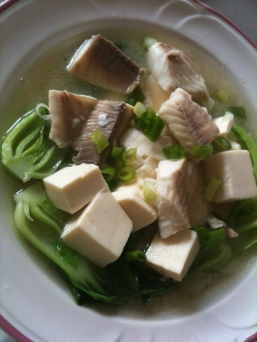Fish in Miso Soup