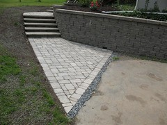 (Monte's Pics) Tags: stairs walkway retainingwall
