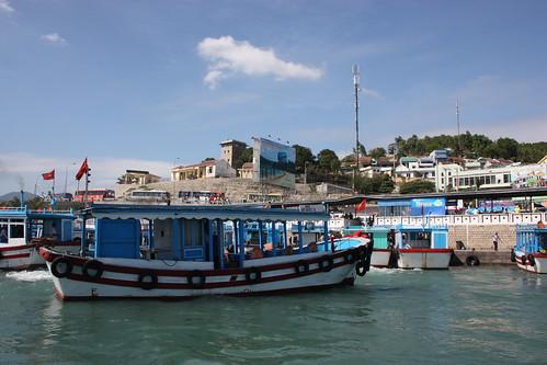 Nha Trang boat pier