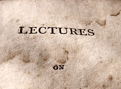 Lectures (Mamluke) Tags: stain vintage paper buch typography book words boek libro stained page font blair papel title lecture papier livre carta mots cru palabras lectures rhetoric parole vendimia titlepage texte woorden 1807 annata uralt mamluke 型 hughblair wijnoogst 単語 belleslettres lecturesonrhetoricandbelleslettres