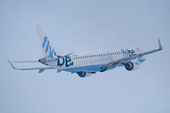 G-FBEG - 19000120 - FlyBe - Embraer ERJ-190-200LR 195LR - Luton - 091221 - Steven Gray - IMG_5553