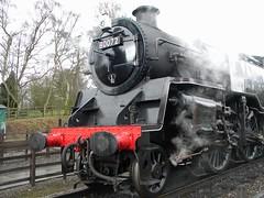 Great Central Railway  - 28 (badtastecinema) Tags: wheel train nikon leicester platform engine steam locomotive tornado loughborough carrage quorn peppercorn rothley greatcentralrailway l100 60163 grandcentralrailway
