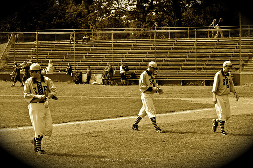 Old Time Base Ball