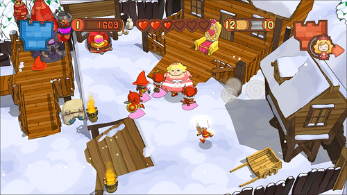 Fat Princess Patch 1.05 Screenshot 2 by PlayStation.Blog.