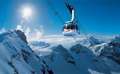 Rotair Panorama (Titlis - Engelberg) Tags: lake glacier gondola gletscher engelberg cableway gondel seilbahn titlis rotair trbsee