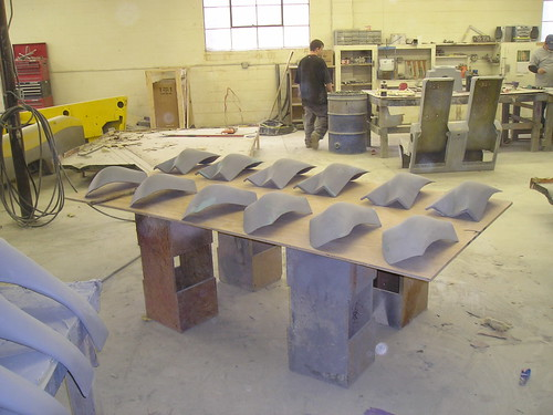 Timberliner fenders in production