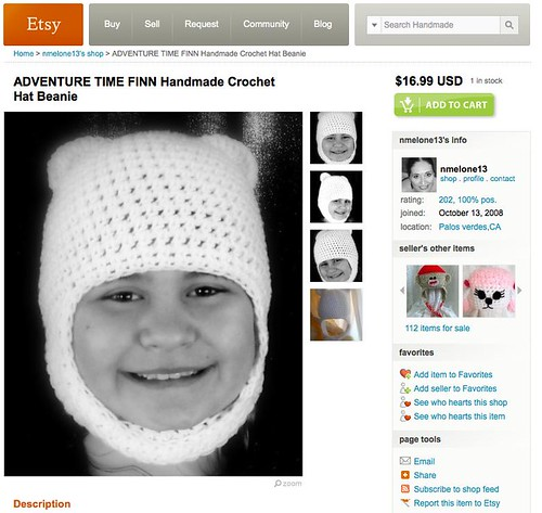 Croched Finn Hat