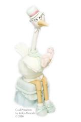 (♥ Cold Porcelain by Erika Alvarado) Tags: boy baby cold shower handmade pasta biscuit bebe erika crafty porcelain masa stork alvarado francesa fria porcelana hechoamano coldporcelain ciguena pastafrancesa