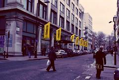 Selfridges, Time.. (- M7D . S h R a T y) Tags: street uk london yellow unitedkingdom selfridges w1 wordsbyme london2010 allrightsreserved