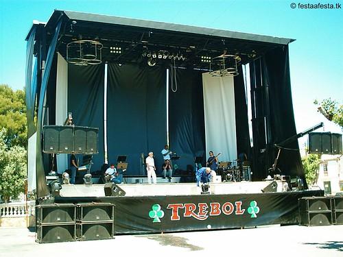 Orquesta Trébol - 2004 -Palco en Paiosaco (A Laracha)