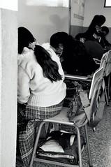 Guatemala '10 (Briography) Tags: school girls summer love happy pretty chairs guatemala dream teacher write draw lovely teach missiontrip desklearn
