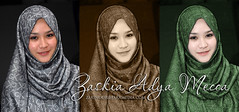Zaskia Adya Mecca (zakinoor) Tags: photo hijab before after celeb indon retouce flowerofislam