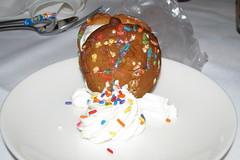 Ice cream cookie at Roy's