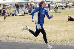 The Mustangs� Natalie Bentz outran the competition to place first  in the 800 meters. (File photo)