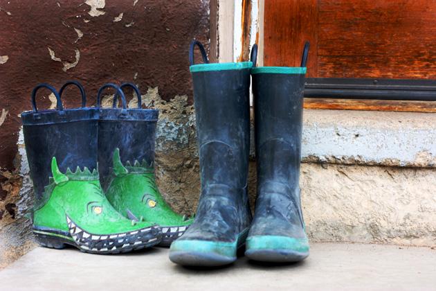 chicken-boots