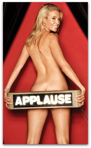 chelsea handler naked applause