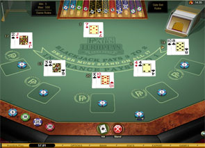 Perfect Pairs European Blackjack Gold