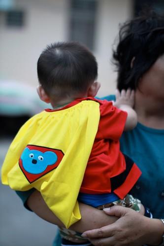 超人裝~樂樂超人~