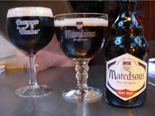 Bourgogne de Flanders and Maredsous bruin @ Royal