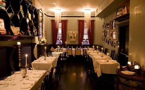 Bobo restaurant NYC interior