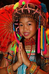 Tribe girl in Thailand (Bertrand Linet) Tags: portrait smile thailand kid tribe younggirl 5photosaday tribegirl earthasia kidthailand tribethailand bertrandlinet