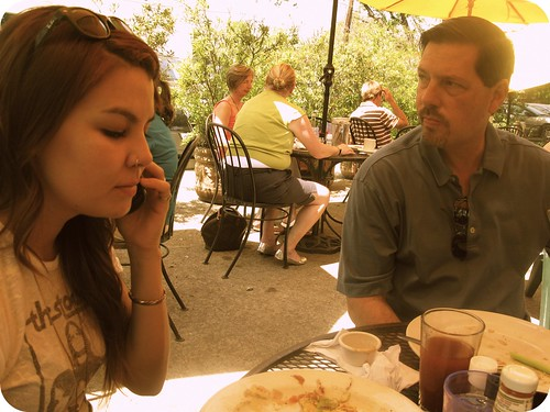 father daughter brunch.