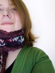Las Pasiones de Betty (ladydanio) Tags: las scarf de point 5 manos betty veronica colinette pasiones