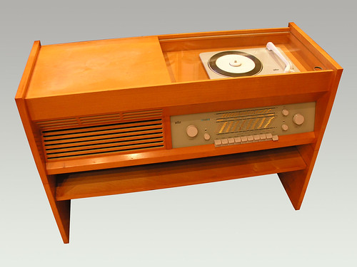 Radio 1950s Music Braun Music Cabinet Radio