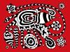 Doodle 1/6/2010 (Daily Doodles) Tags: flowers blackandwhite abstract art modern illustration painting poster graffiti design sketch artwork 60s folkart outsiderart bright drawing mixedmedia abstractart contemporaryart contemporary vibrant modernart surrealism vivid mandala doodle zen 70s surrealist meditation sharpie psychedelic linedrawing penandink surrealart artprint redart colorfulart dailydoodles surrealistart zentangle doodledrawing