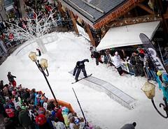 Altitude (Ant_Pix) Tags: uk london freestyle skiing tricks snowboard gbr allimages getinvolved anthonyupton andrewmaxwell frenchskiresort 20100324 {fabs} avalonjibsession 2010altitudecomedyfestival meribelmarcusbrigstocke