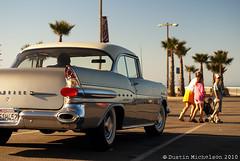 (D.Michelson) Tags: california hot classic beach car 50mm star gm minolta antique chief sony 1957 rod pontiac pismo a100 f17